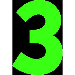 20cm Athletic Font