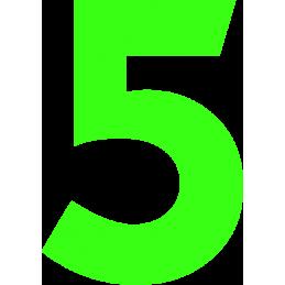 15cm Athletic Font